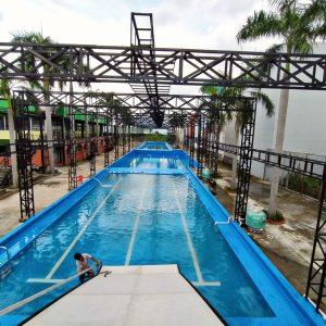 bể bơi âm lót bạt chất lượng
