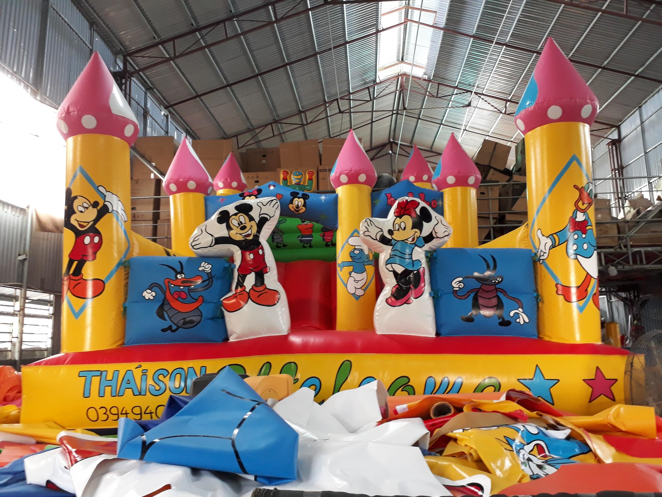 Nhà Hơi Chuột Mickey 4,2m x 6m
