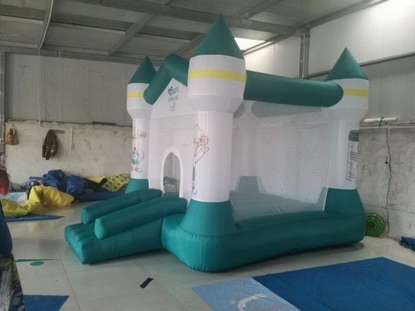 Nhà hơi nhún lâu đài 3mx4m 3
