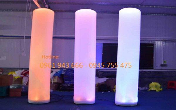 Thùy Linh sản xuất bơm hơi Led trụ cột phát sáng 1