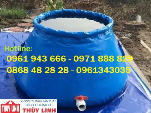 Bồn bạt chứa nước di động