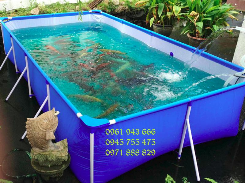 Bể bạt nuôi cá PVC chất lượng cao
