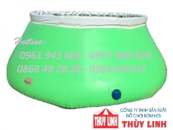 Sản phẩm được cấu tạo từ chất liệu bạt PVC cao cấp