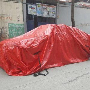 Túi chống ngập ô tô/ Áo mưa dành cho ô tô 2