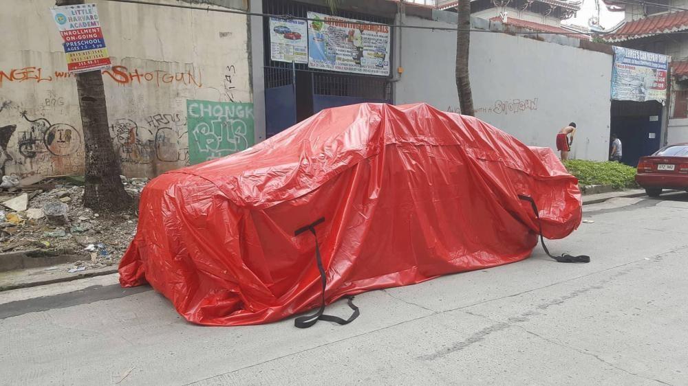 Túi chống ngập ô tô/ Áo mưa dành cho ô tô 3