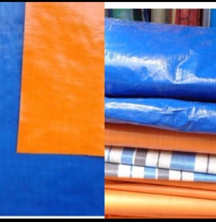 Bạt dứa xây dựng với nhiều màu sắc nổi bật