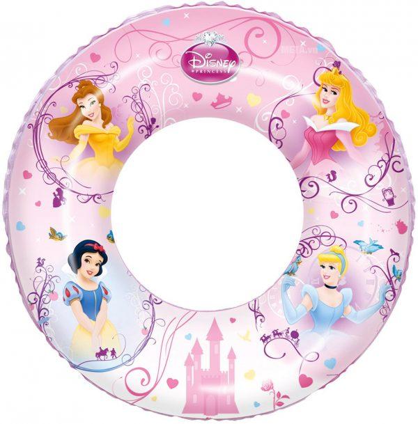 Phao bơi hoạ tiết công chúa