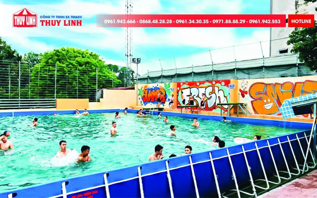 Báo Giá Bể bơi - Hồ Bơi Di Động Tại Công Ty Thủy Linh 1
