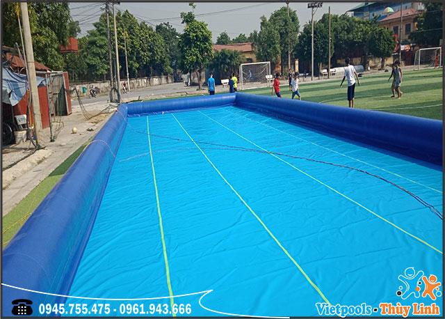 bể bơi- hồ bơi bơm hơi hình chữ nhật kích thước lớn