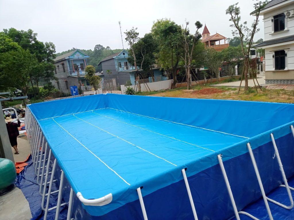 Hồ Bơi Lắp Ghép Thông Minh 24
