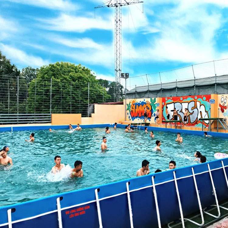 Bể Bơi Lắp Ghép Khung Kim Loại - Bể Bơi Lắp Ghép 9