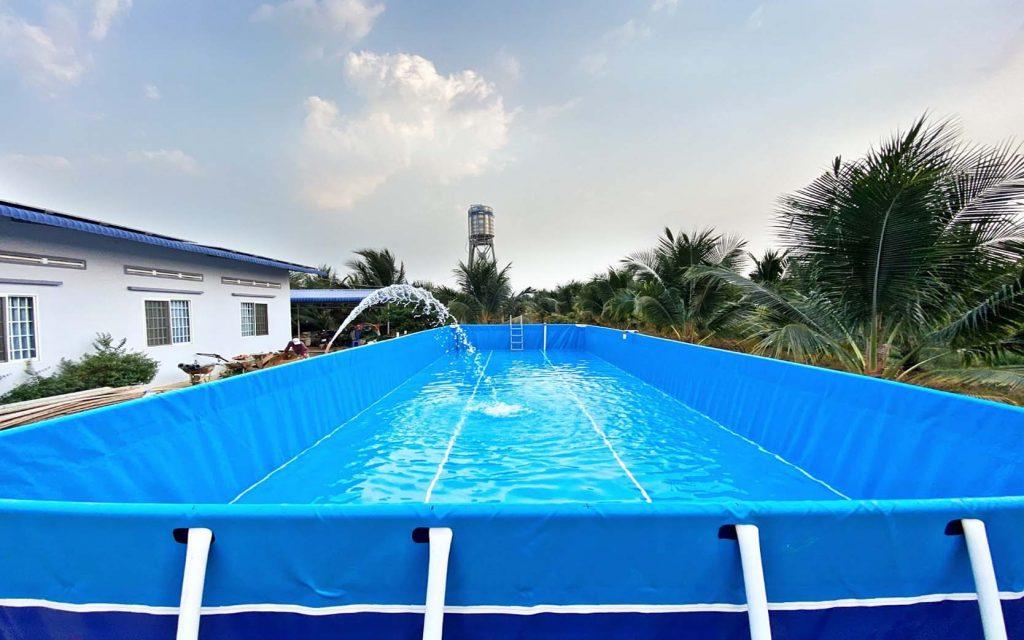 Bể Bơi Lắp Ghép Khung Kim Loại - Bể Bơi Lắp Ghép 10