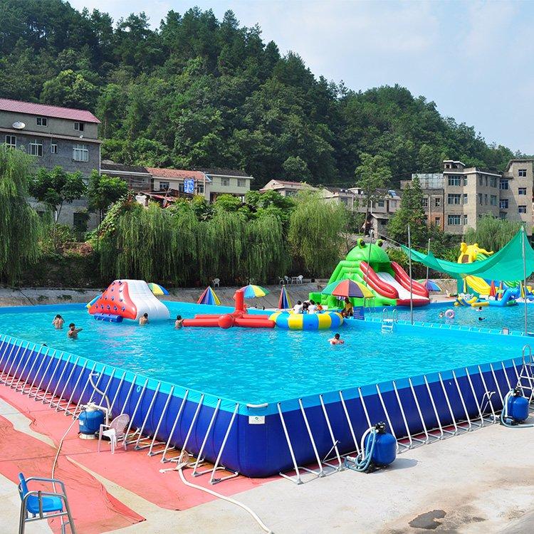 Bể Bơi Lắp Ghép Khung Kim Loại - Bể Bơi Lắp Ghép 12