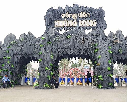 CV khủng long-TP Ninh Bình